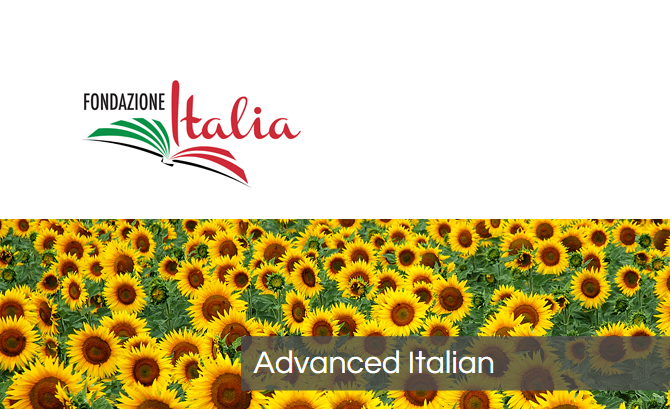 Italian course offered by Fondazione Italia