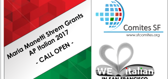 MARIA MANETTI SHREM GRANTS 2017 NOW OPEN