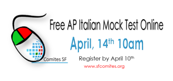 Mock Test ONLINE for students preparing AP Italian 2018
