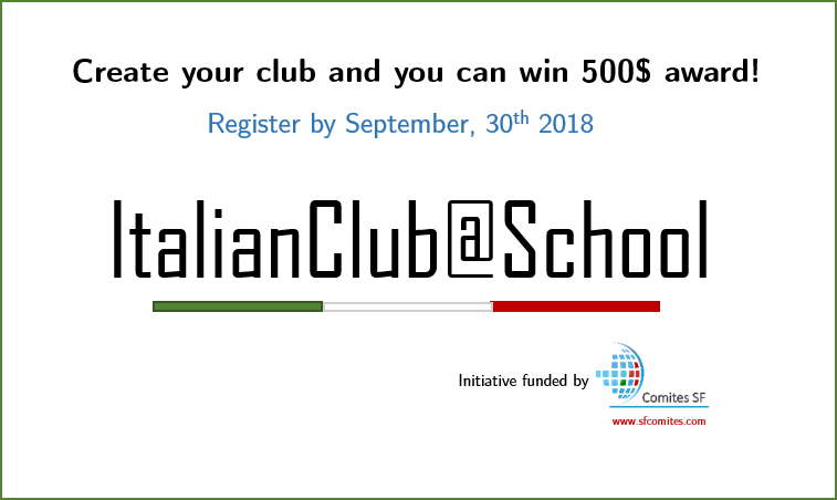ItalianClub@School Initiative