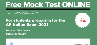 Free Mock Test ONLINE for students preparing AP Italian 2021